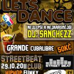 Plakát na Let's Dance 2011